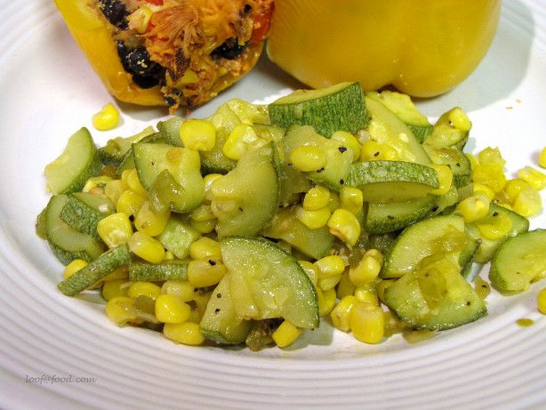 Calabacitas con chile verde recipe chile mexicans and dishes forumfinder Choice Image