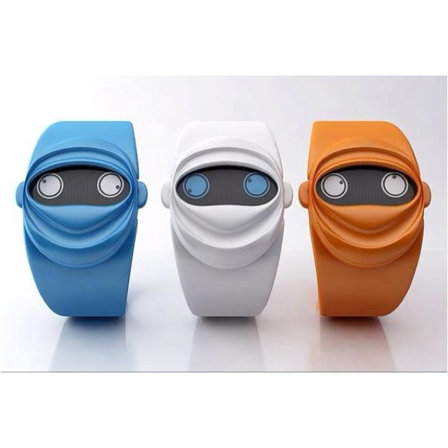 Relojes Ninja Time by Andy Kurovets. Qué salaos.