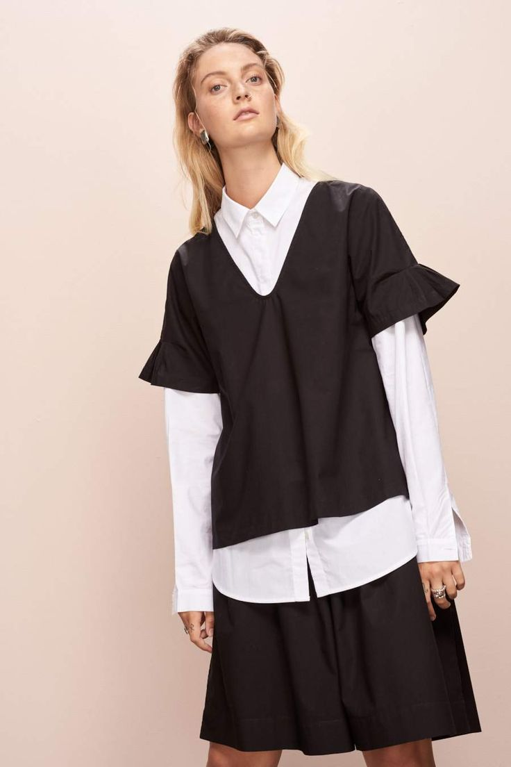 We're obsessed with kowtow ---> that's why they are on our list of the top STYLISH yet SUSTAINABLE brands!