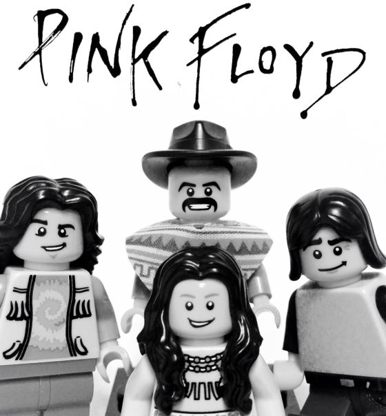 Lego versions of 33 popular bands