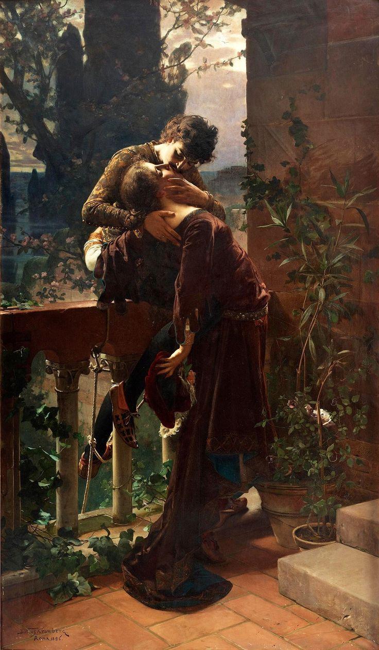 «Ромео и Джульетта» Юлий Кронберг (Julius Kronberg) 1885 год