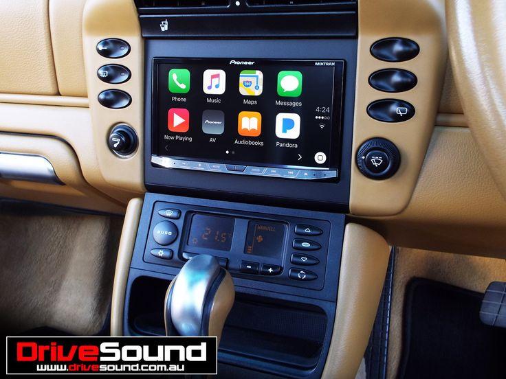 Porsche 996 with Apple CarPlay installed by DriveSound