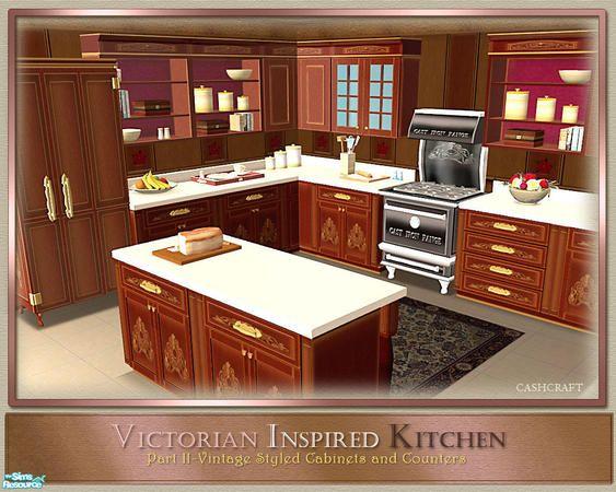 cashcraft's Victorian Inspired Kitchen Part II