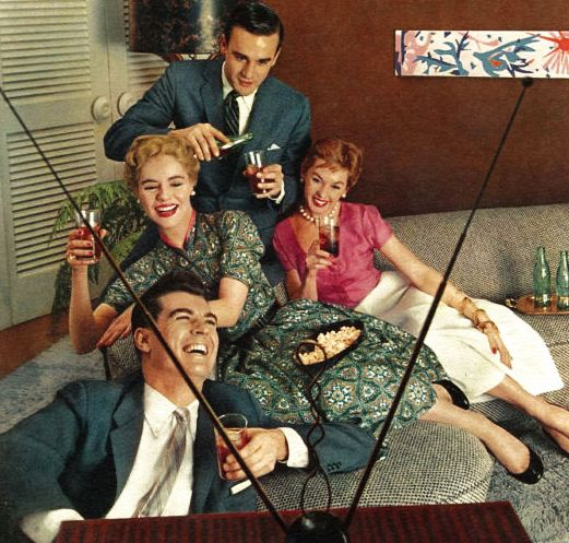 More time to enjoy your friends… more ways to enjoy your leisure - Coca Cola 1957