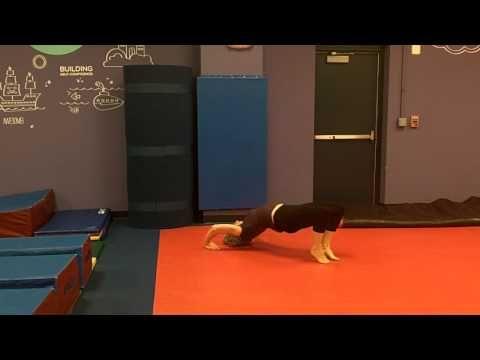 USAG gymnastics level 2 floor routine - YouTube