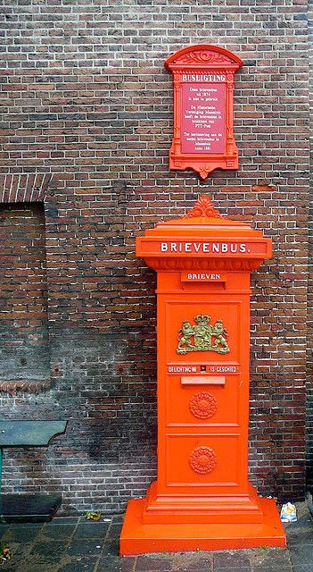 Old mailbox in The Netherlands