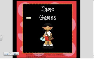 Peace, Love and Kindergarten: Name Games & Beginning of the Year Poems, Games, & Songs!!