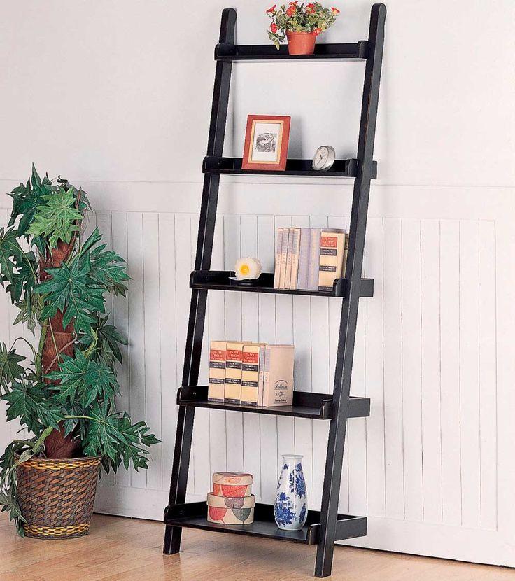 Statuette of Leaning Ladder Bookshelf