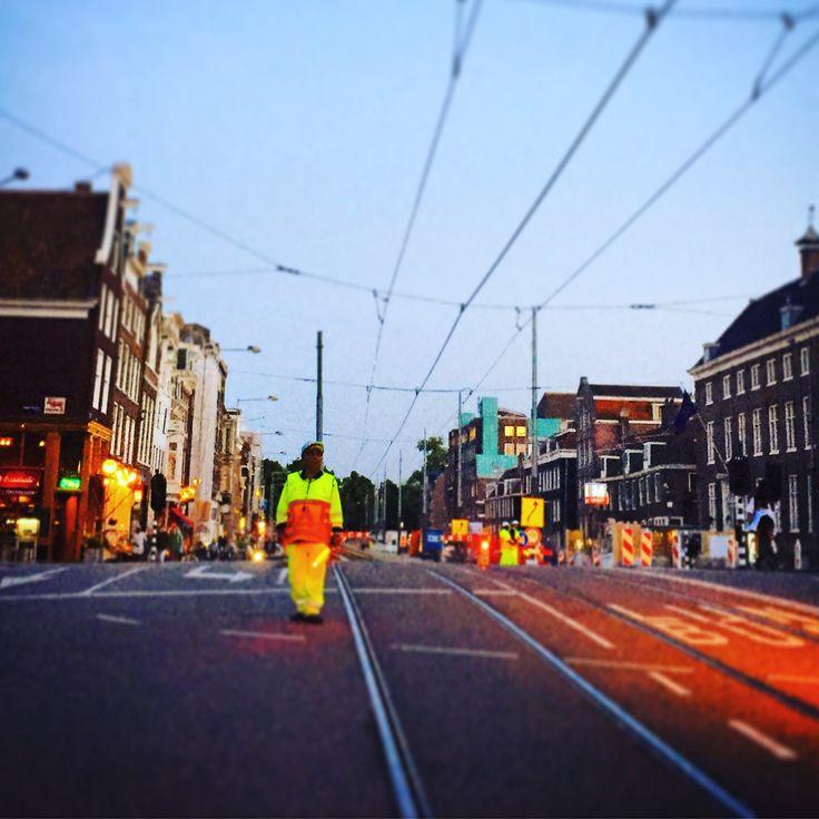 Road Block Amsterdam photo by Lizzie Reakes