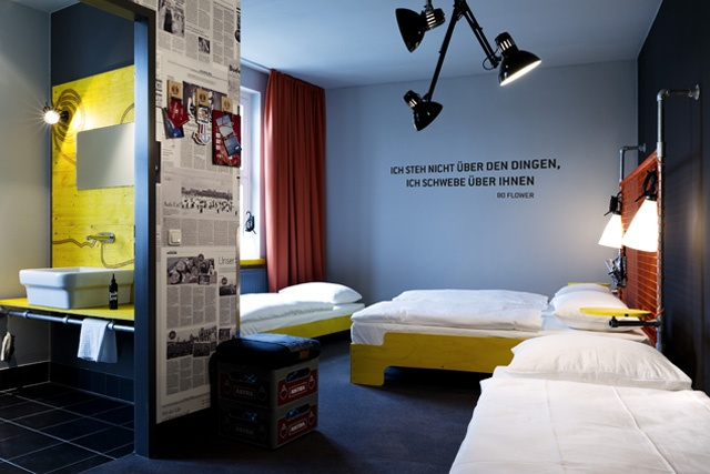 """Design Hotel and Hostel """"Superbude"""" in Hamburg, Germany  every room in another design ;)"""