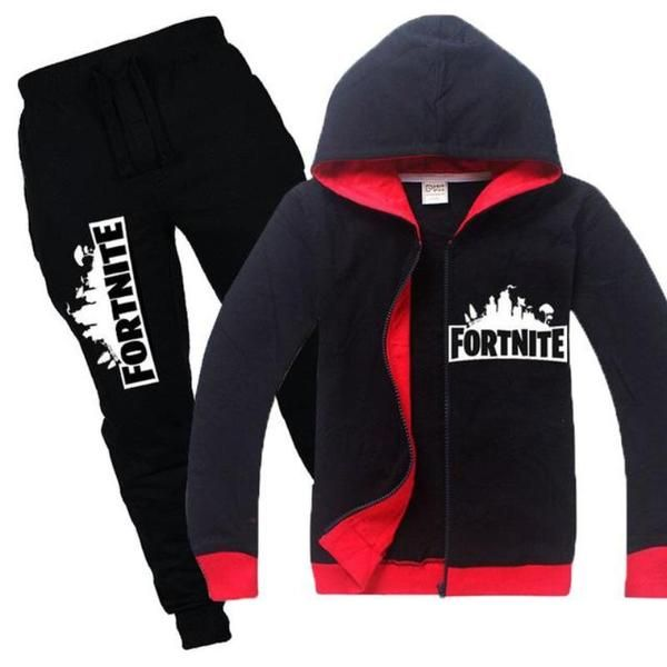 bacd9c098 2 Piece Long Sleeve Fortinite Hoodie Set. 2 Piece Long Sleeve Fortinite  Hoodie Set Teenager Outfits, Kids Outfits Girls, Boy Outfits