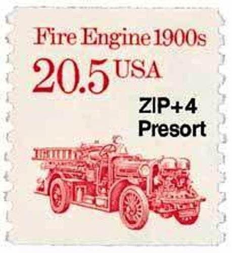 1988 20.5c Fire Engine Scott 2264 Mint F/VF NH  www.saratogatrading.com