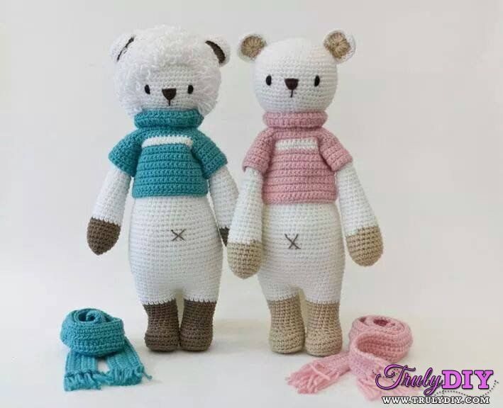 Amigurumi Free Patterns Bear : 227 best amigurumi bears images on pinterest crochet toys