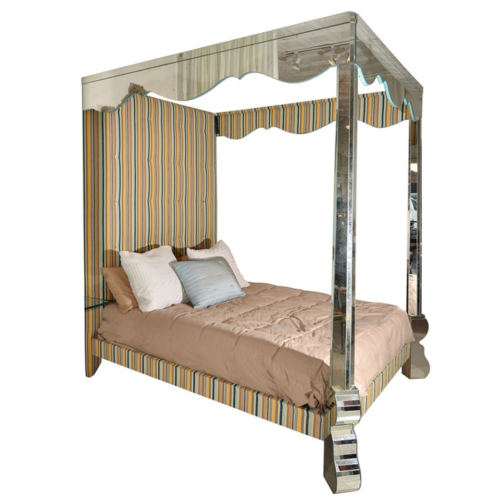 Mirrored Nightstand In Furniture Ebay Images 100