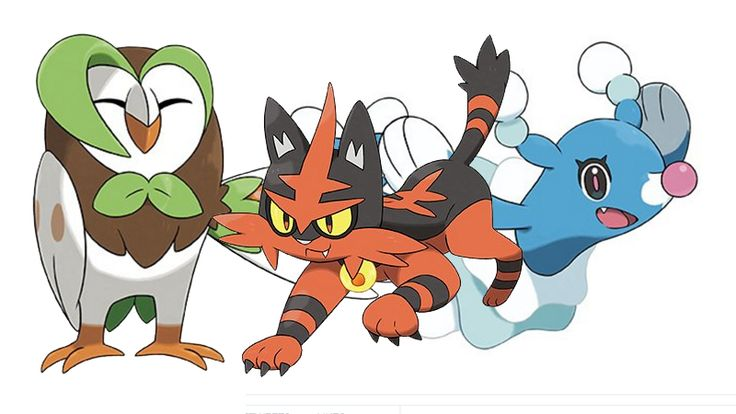 Meet Dartrix, Torracat, and Brionne. Looks like no matter what starter you pick in Sun and Moon, you're in for something cute as an evolution.