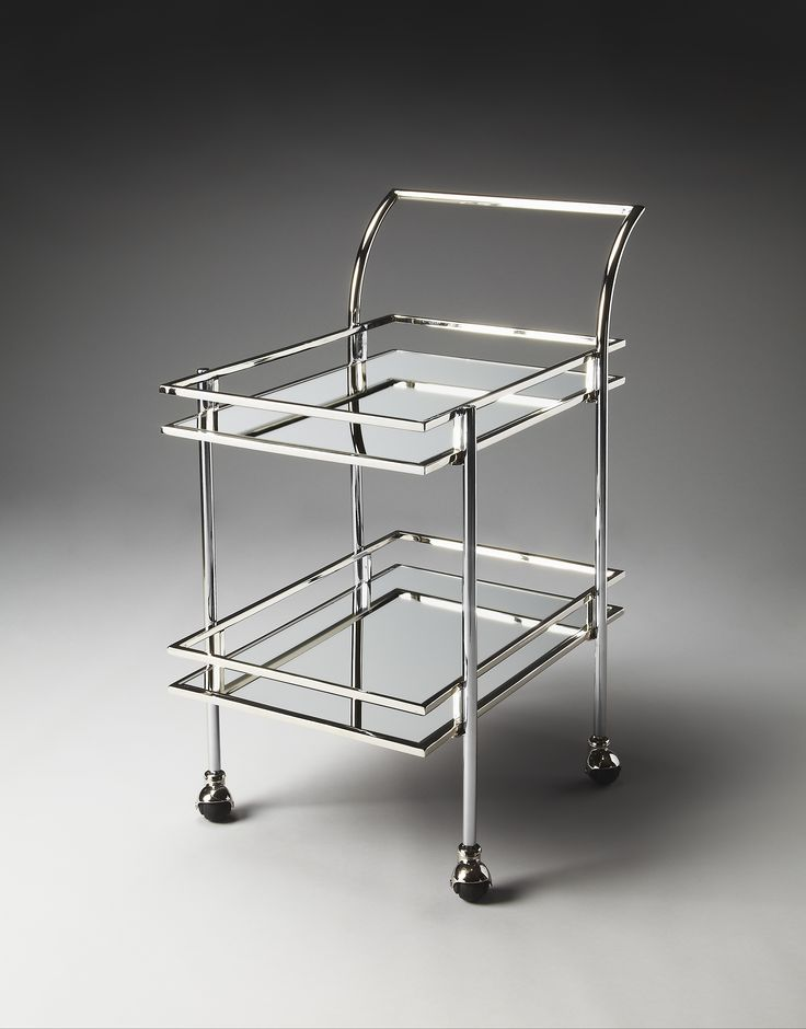 Gatsby Contemporary Bar Cart by Butler Specialty Company 3139220