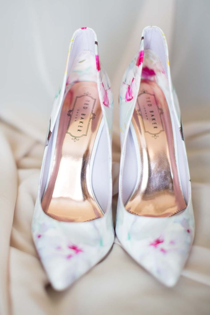 The prettiest floral Ted Baker shoes!