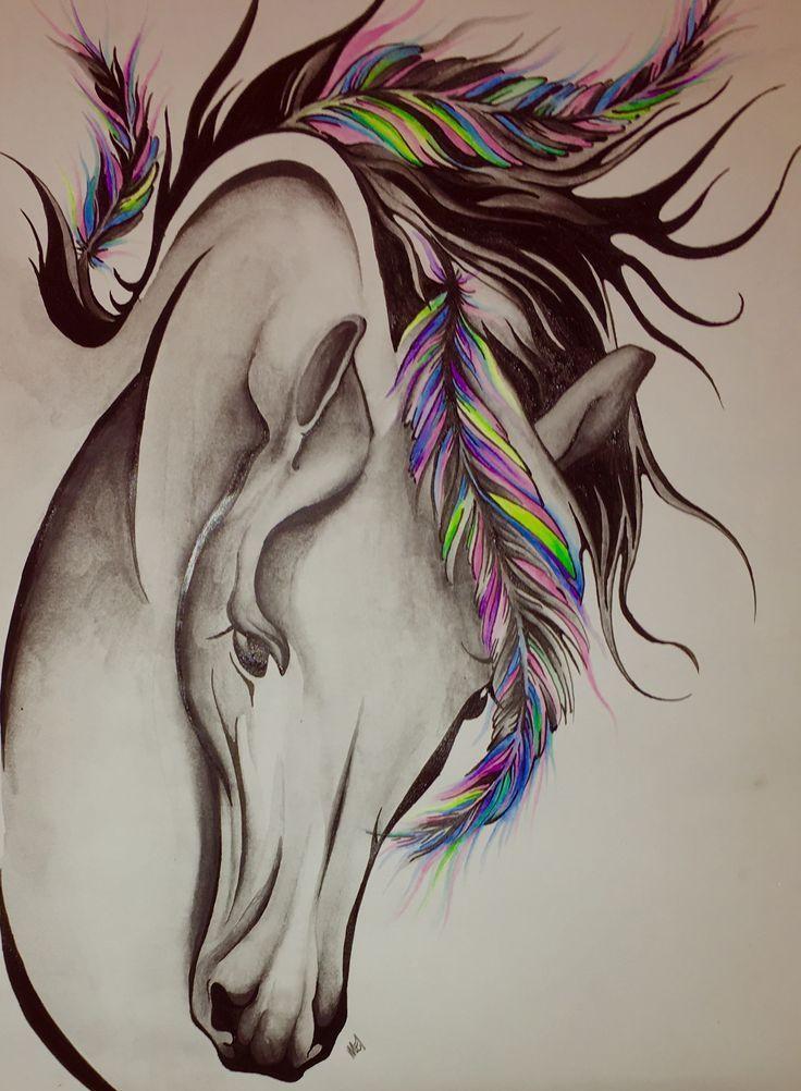 эскизы картинки с лошадьми элементы страховки