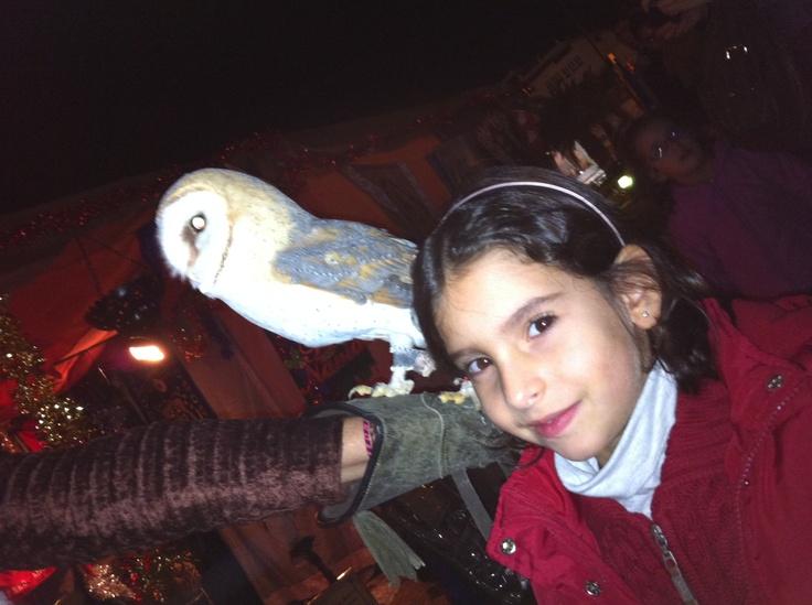 an owl charm