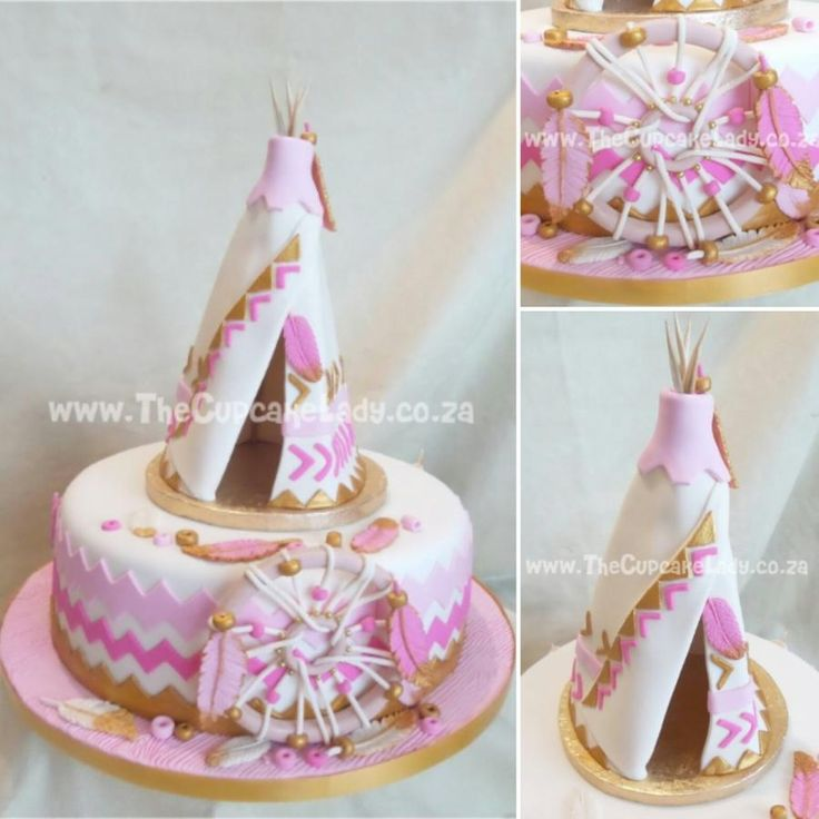 A Cake for a Tribal Princess by Angel