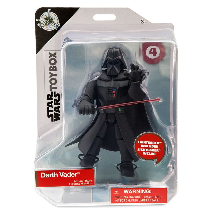 Star Wars Darth Vader Toybox Action Figure Out Now
