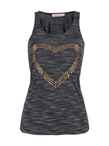 New arrival! Studded heart cami <3