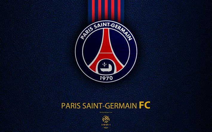Download wallpapers Paris Saint-Germain, PSG, 4K, French ...