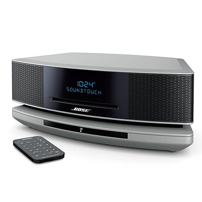 Bose Wave Soundtouch Music System Iv Works With Alexa Platinum Silver Music System Works With Alexa Stereo Systems