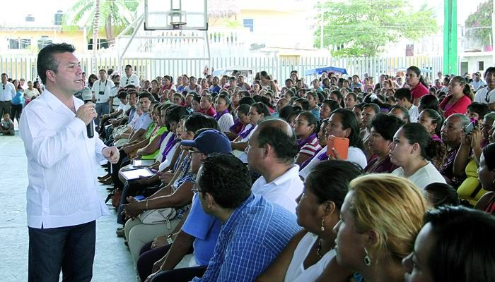 Miles de familias de Solidaridad se benefician con las acciones de Prospera