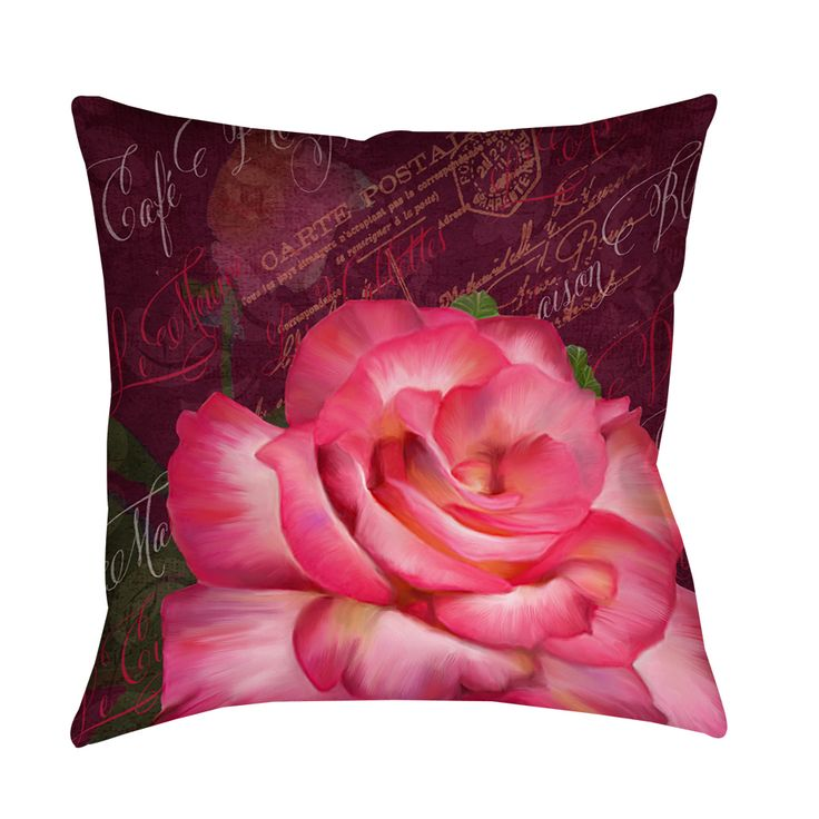 Thumbprintz Paris Bistro Decorative Throw Pillow