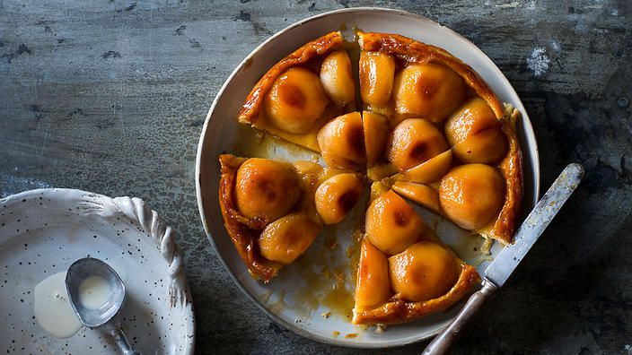 Anneka Manning's pear tarte Tatin. Check out our Bakeproof column for tips and recipes.