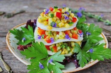 Салат Радуга - рецепты пошагово с фото. Как приготовить радужный салат кучками с чипсами или картофелем фри