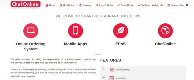 Chef Online Smart Restaurant Solutions provides cheap mobile apps, best EPos for restaurants in UK.