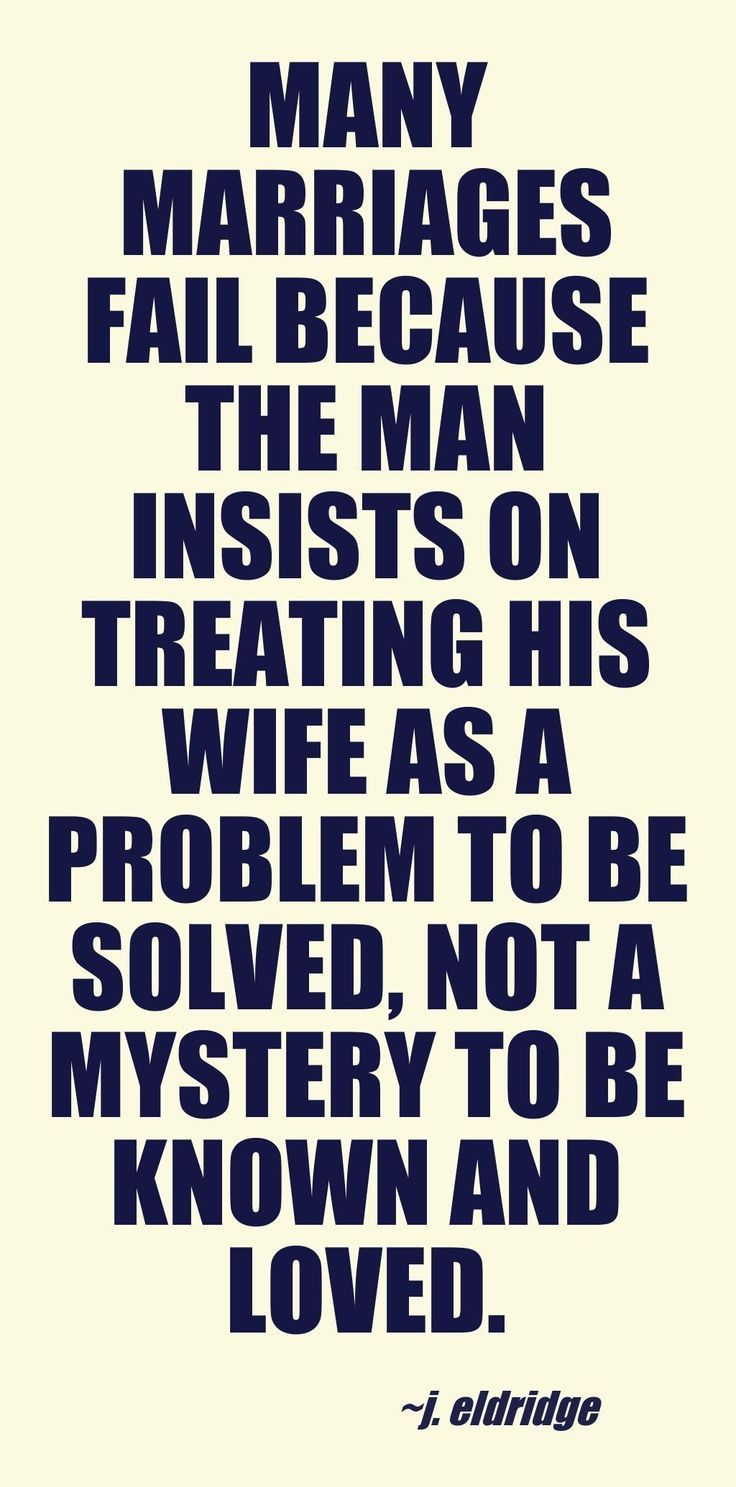 marriage and relationship problems