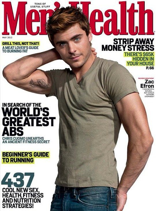 no words: Menhealth, High School Musical, Zacefron, Health Magazine, Zac Efron, Hot, Men Health, Eye Candies, High Schools