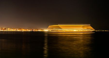 light trail Photo by Panos Kyparissiou — National Geographic Your Shot