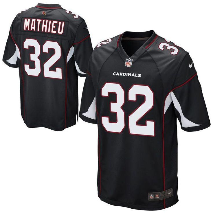 ... Tyrann Mathieu Arizona Cardinals Nike Youth Alternate Game Jersey -  Black Nike Tyrann Mathieu Elite White Road Womens Jersey - NFL Arizona  Cardinals 32 ... c0b0e3d50