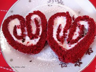Share it!  So Valentine's Day is coming up & I knew I wanted to make something festive for you all, as well as for my cute family. I whipped up this Red Velvet Cake Roll & shaped it into a heart. It turned out pretty nice, I must say! Wouldn't this be fun to …