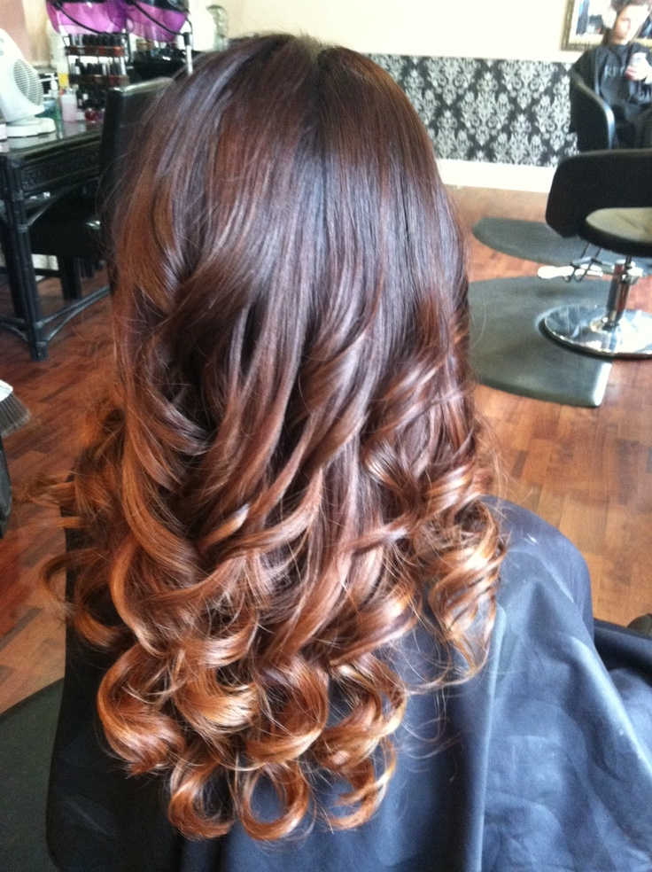 Colors Ombre And Hair On Pinterest