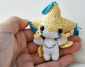 Jirachi doll PRE-ORDER x Legendary Pokemon Mini Amigurumi