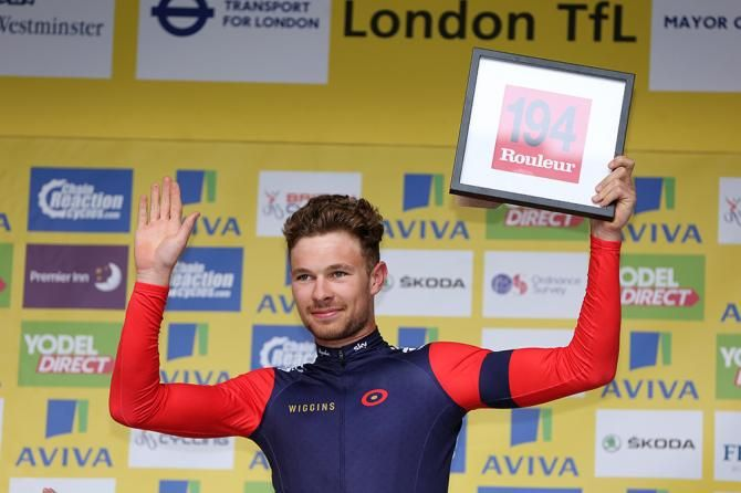 Doull secures WorldTour contract for 2017 & 2018 seasons.  (Photo: Owain Doull (WIGGINS) was most combative)