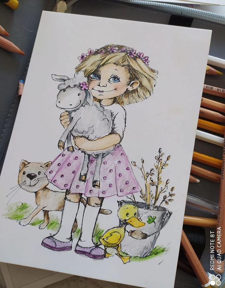 I love crayons Colouring picture by Eva Hanoutová in