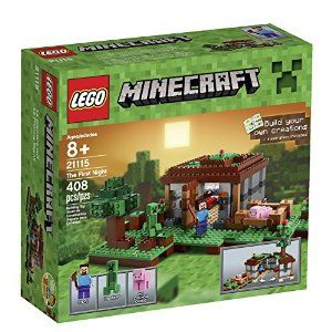 LEGO Minecraft 21115 The First Night -   - http://www.toyrange.com/toys-games/building-toys/building-sets/lego-minecraft-21115-the-first-night-com/