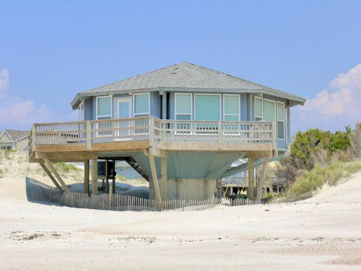 Carousel a 2 Bedroom Oceanfront Rental House in Emerald Isle, part of the Crystal Coast of North Carolina. Includes Hi-Speed Internet