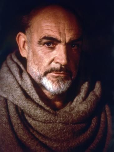 Le Nom by la Rose The Name of the Rose by JeanJacquesAnnaud with Sean Connery, 1986 (photo) Photo – DeWayne Ruggles – Drawist, Writist