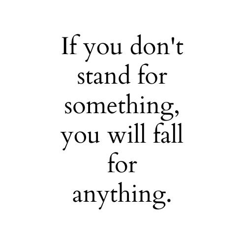 #Quotes #PearlsOfWisdom #StandForSomething