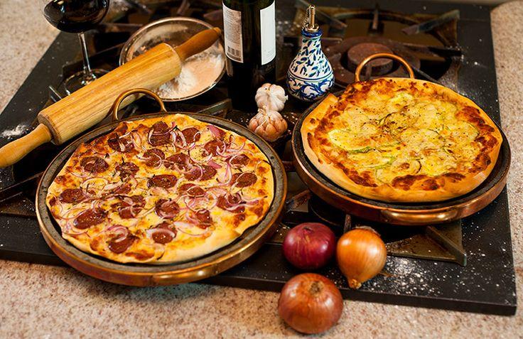 Receita de massa de pizza italiana - O Chef e a Chata
