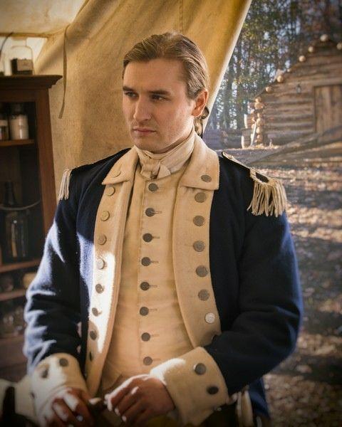 Seth Numrich as My Darling Benjamin Tallmadge in Turn: Washington's Spies Season Two