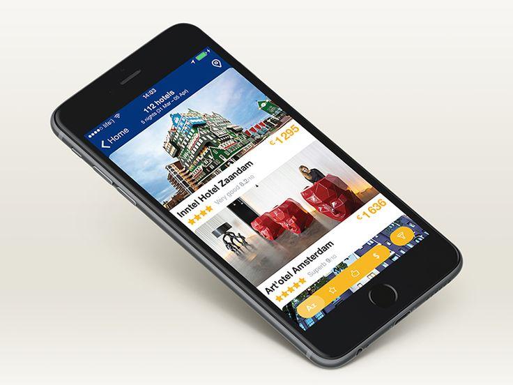 Booking.com App Concept