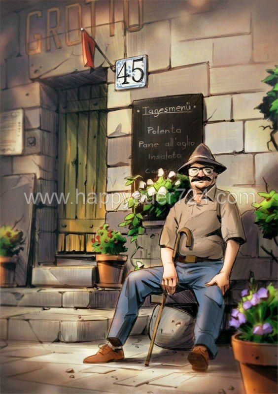 Dario Coelho, Layout, Characters, http://www.tuveneatu.at/category/Dario+Coelho/